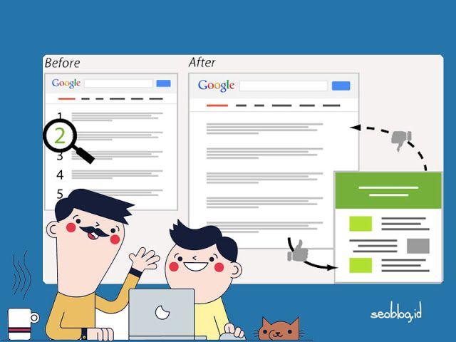 Optimasi SEO On Page untuk meningkatkan rangking situs di mesin pencari.