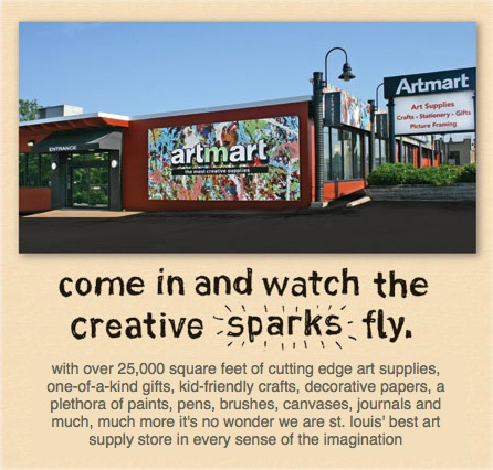 27 best images about art material stores on pinterest for Craft stores st louis