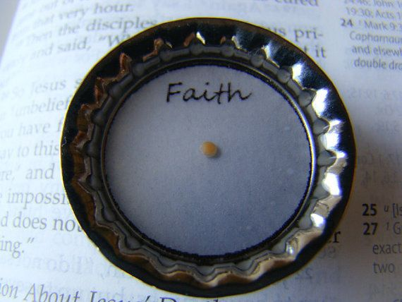 Mustard Seed Magnet  Mustard Seed Faith  Mustard by MinsBoutique, $4.00