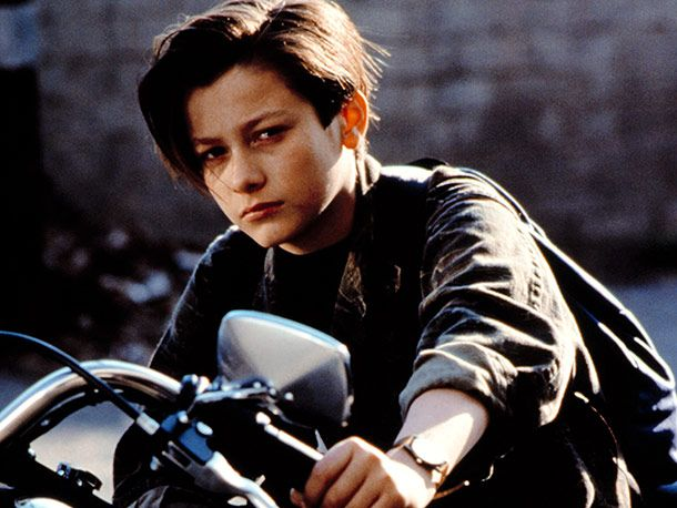 """Edward Furlong...my most serious celebrity crush as a kid!  I know he's more """"hot mess"""" than """"hot"""" these days, but when I was 11 he was a big deal!"""