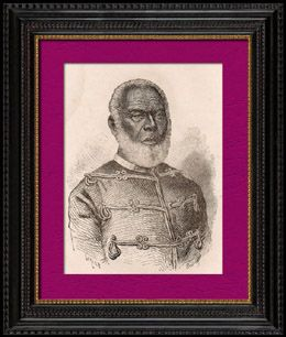 Portrait of George Tupou I (1797-1893) - King of Tonga (1875–1893)