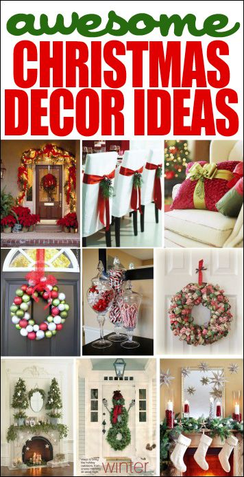 Amazing Christmas decor ideas! Lots of inspiration here!!