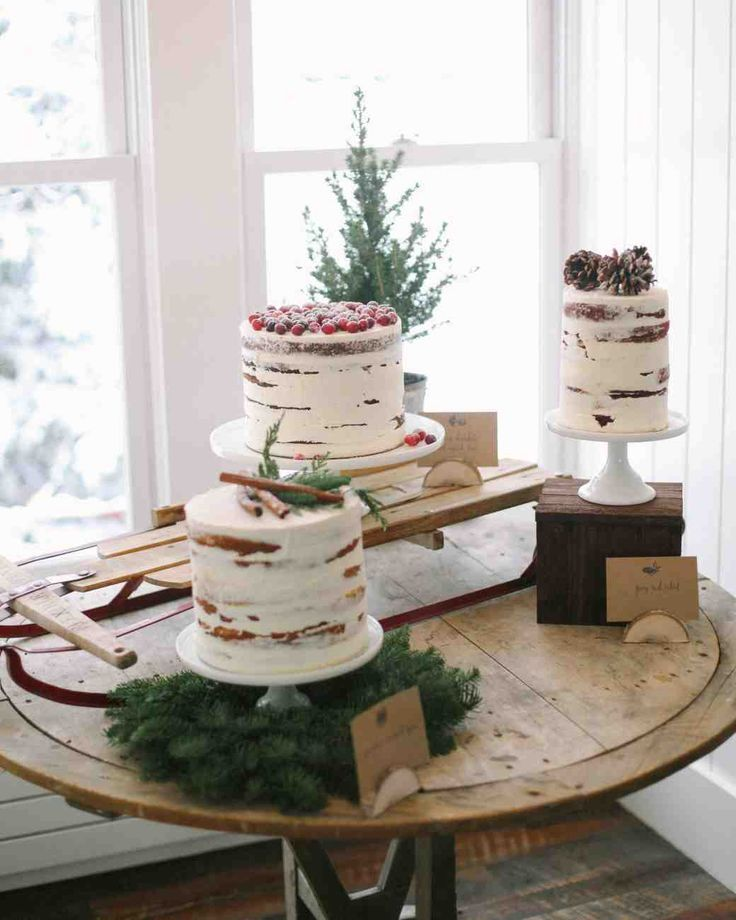 Throw a bridal shower that's inspired by the cold-weather season.