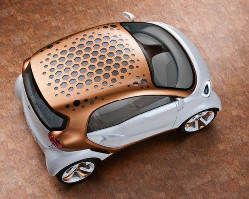 Future Car, Daimler Smart Forvision