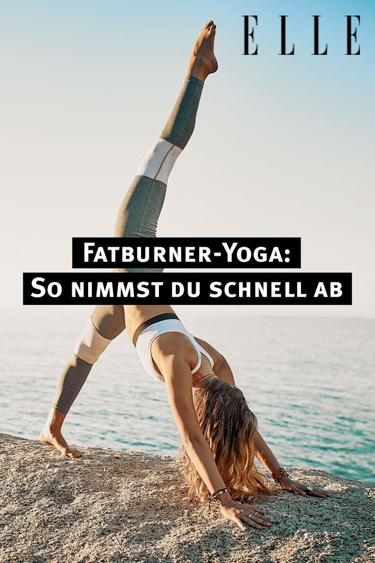 Entspannt abnehmen mit Fatburner-Yoga – ELLE Germany