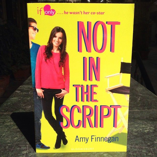 Not In The Script by Amy Finnegan is available now!