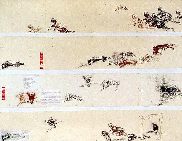 best gender art images gender music genre  torture of women handprinting and typewriter collage on paper x 508 cm