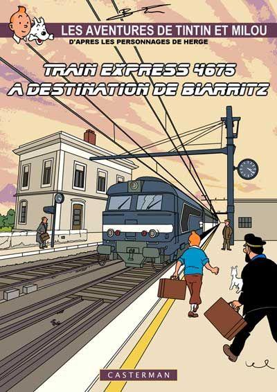 Train Express. Couverture signée TB.