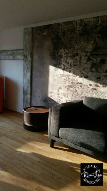 37 best HANDwerk Wand images on Pinterest Loft, Creative and Silver - wandgestaltung industrielook