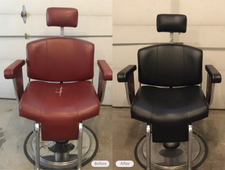 Barber Chair Repair By Fibrenew Pittsburgh East. Visit Your Nearest  Fibrenew Location For Any Leather