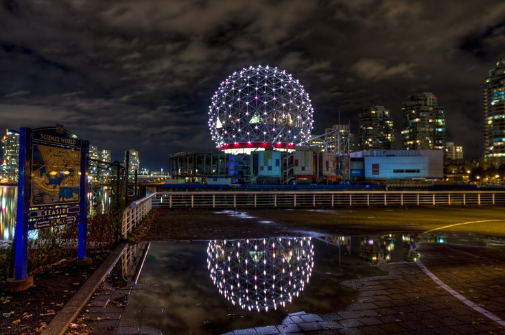 #HDR #Night #vancouver #photography