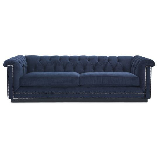 Barrymore Sofa Mitc Gold 94 2 495 Navy If It Could Be Turned Into A Sleeper I Think Would Perfect For Th