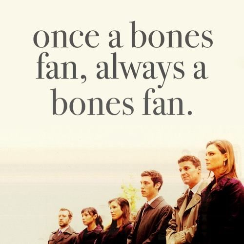"""""""Bones"""" TV Show on FOX, TNT, WGN  MY Networks, that show it during the week, whether new or already viewed. From:  And may we all RIP once the series ends"""