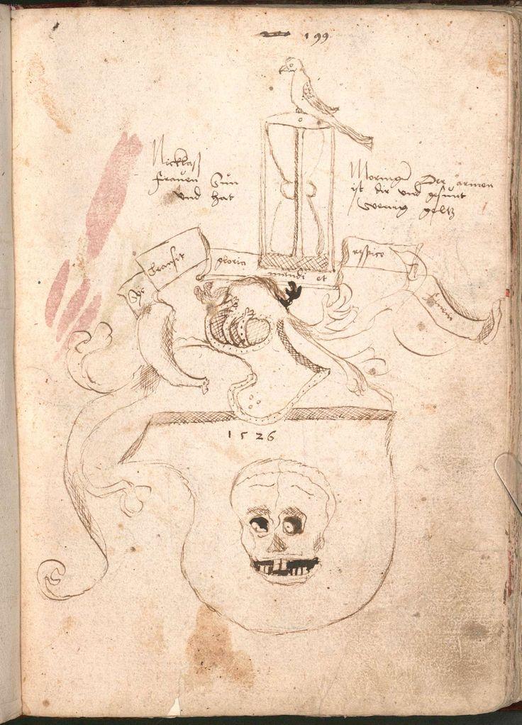 """""""Wernigeroder (Schaffhausensches) Wappenbuch""""; Süddeutschland 4. Viertel 15. Jh. Bayerische Staatsbibliothek München, Cod.icon. 308 n"""
