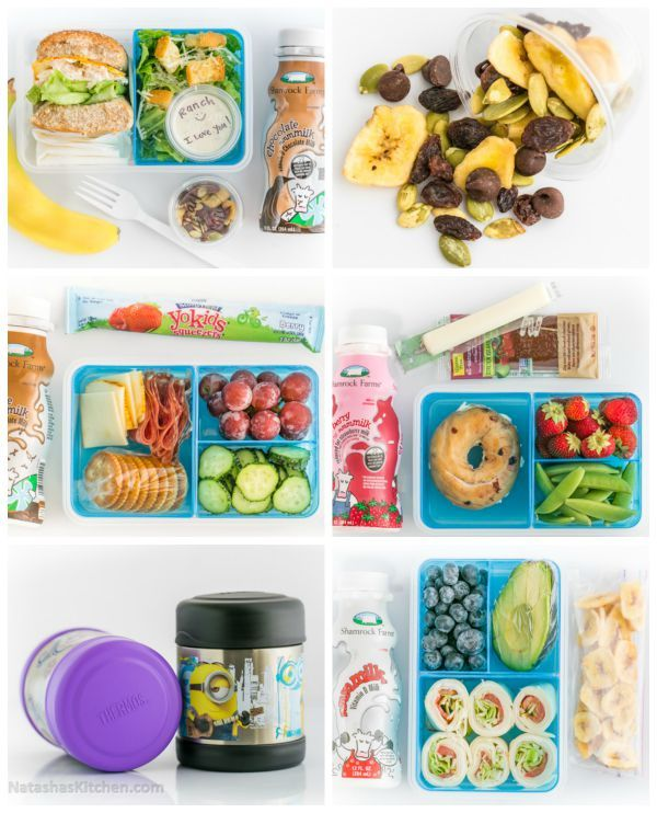 Here are loads of practical school lunch ideas (for cold and hot lunches) that your kids will actually eat!
