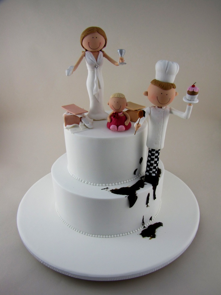 chef groom wedding cake topper 34 best chef themed cakes images on chef cake 12632