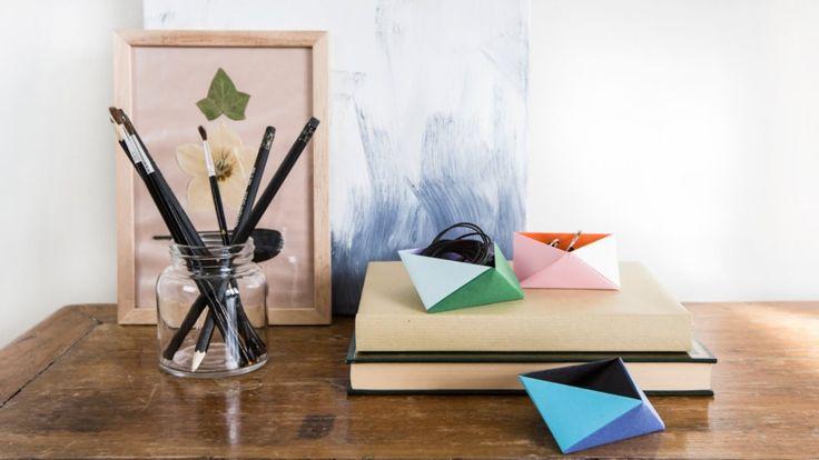 Hele leuke origami bakjes by Sostrene Grene