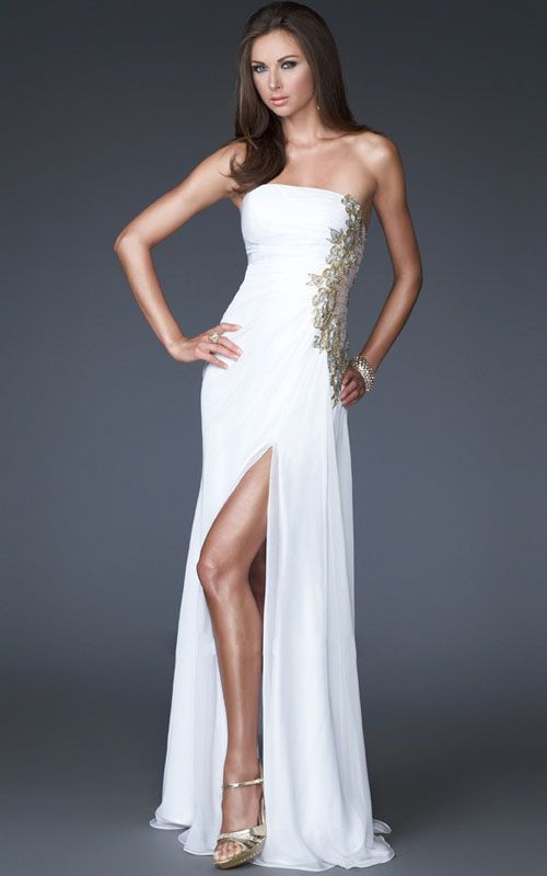 White And Gold Prom Dresses 2013 Fashion Dresses