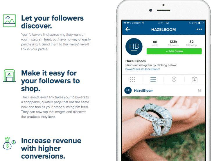 Have2Have.it pour Instagram : comment ça marche