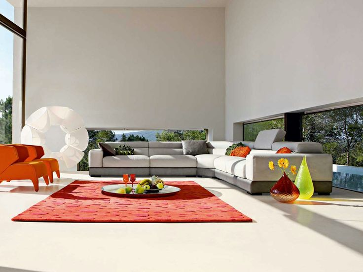 Roche Bobois Sofa Collection Beautiful White Themed Living