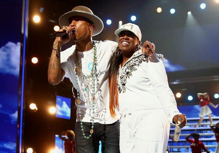 Rolling Soul: Pharrell & Missy Elliott abrem o BET Awards 2014!