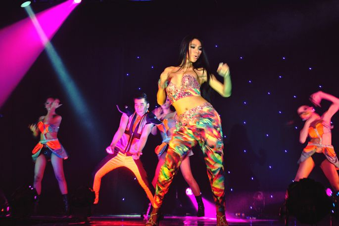 ladyboys of bangkok show