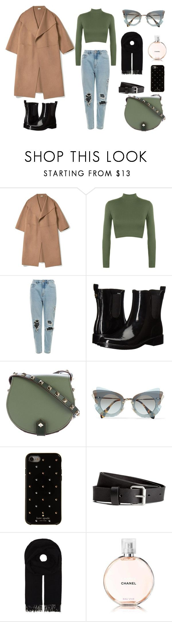 """""""look"""" by ebekkhem on Polyvore featuring мода, WearAll, Tory Burch, Rebecca Minkoff, Miu Miu, Kate Spade, Canada Goose и Chanel"""
