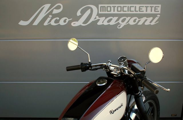 "#23 Kawasaki Z500 ""Lorenzo"" / Nico Dragoni Motociclette"