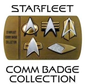 Star Trek communicator badges, make these designs as a mobile