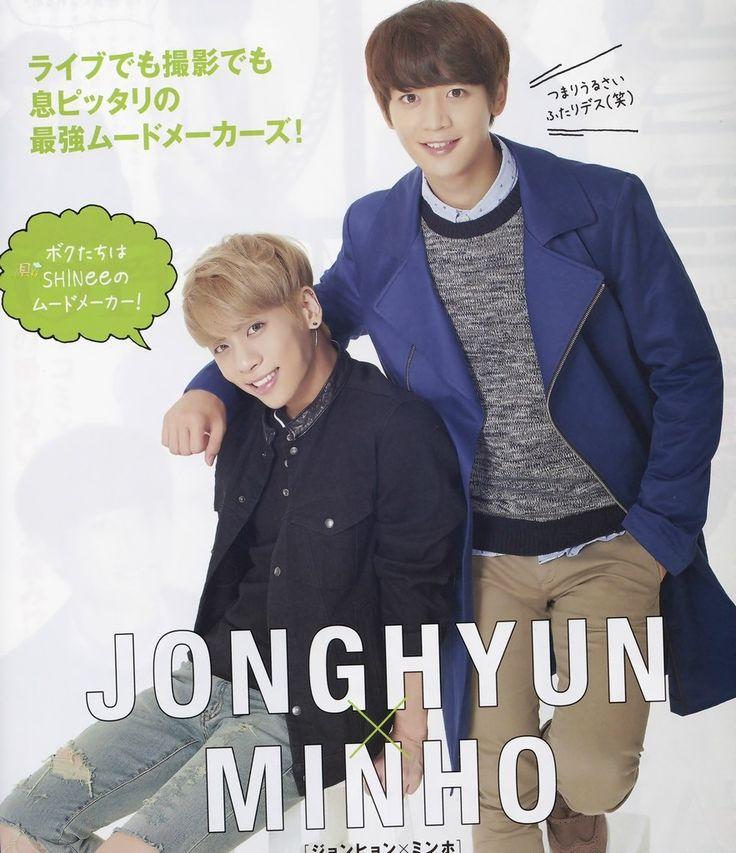 Minho and Jonghyun Seek Magazine Vol. 4 2014