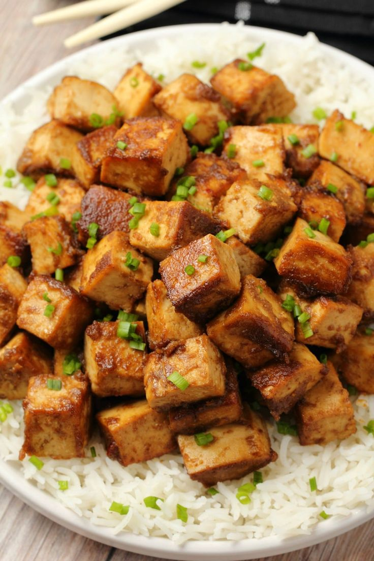 Ultra delicious marinated tofu perfect for a quick and