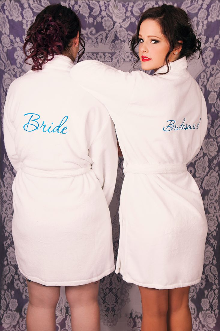 Super soft and fluffy, slide into ultimate cosiness while you get pampered and prepare for the happiest day of your life.  Feel ultra-feminine and indulgent, you will look absolutely stunning with your bridal party!