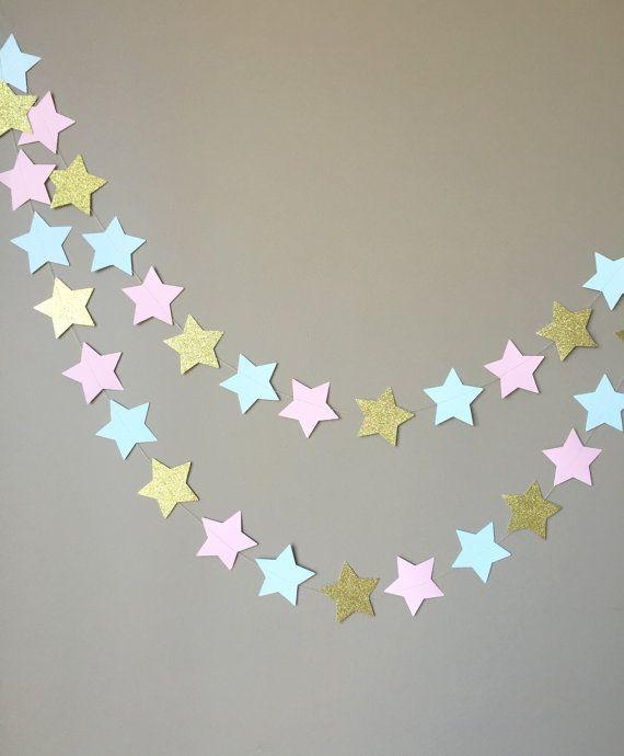 Gender Reveal Twinkle Twinkle Little Star by ConfettiBistro