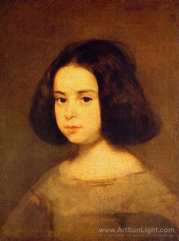 Portrait of a Little Girl c.1640, Diego Velazquez