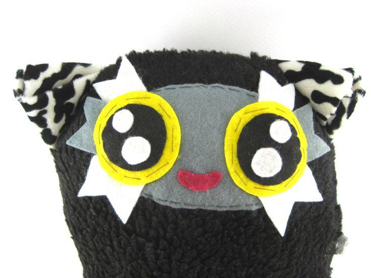 Cute Cozy Stuffed Animal Fluffy Ball Ermis!! by JazzyRaccoon on Etsy