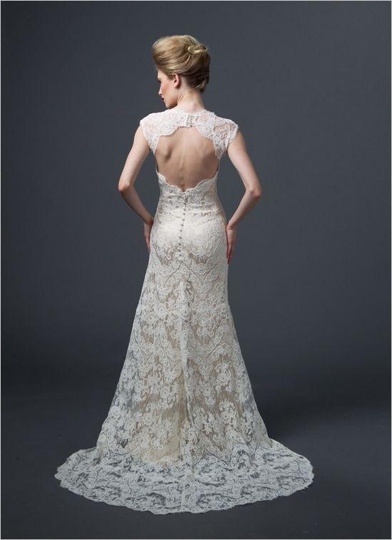 open back dress back by Sareh Nouri