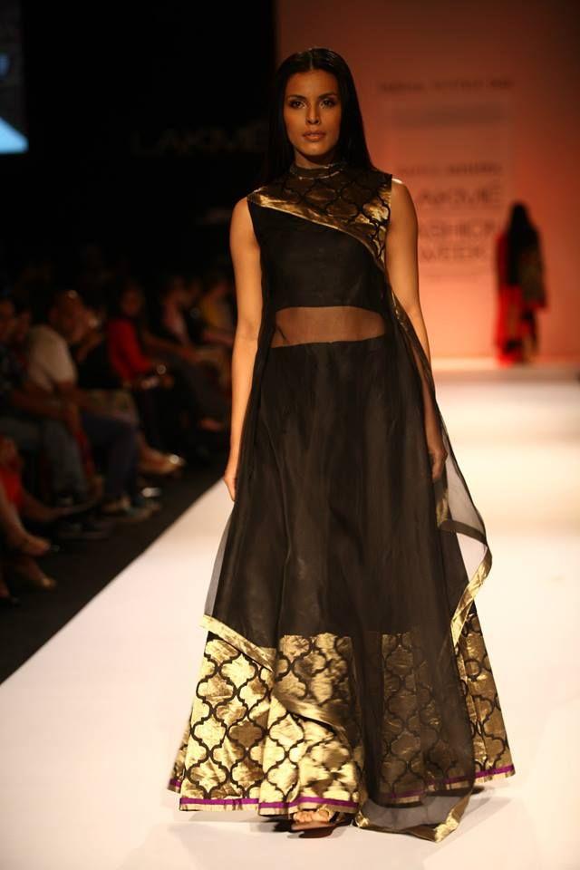 Rahul Mishra - Lakme Fashion Week Winter/Festive 2013