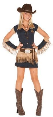 Teen Cowgirl Halloween Costume $43.07 http://www.costumeshopper.com/prods/em9126jr.html #cowgirl #cowgirlcostume #teencowgirlcostume #halloween #halloweencostume #costume #teen #teencostume