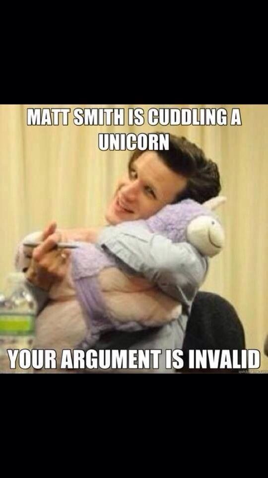 But I own that exact unicorn so it's like we have a connection or something *cough cough hint hint*