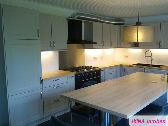 R alisation cuisine ixina jambes maison cuisine for Cuisine ixina