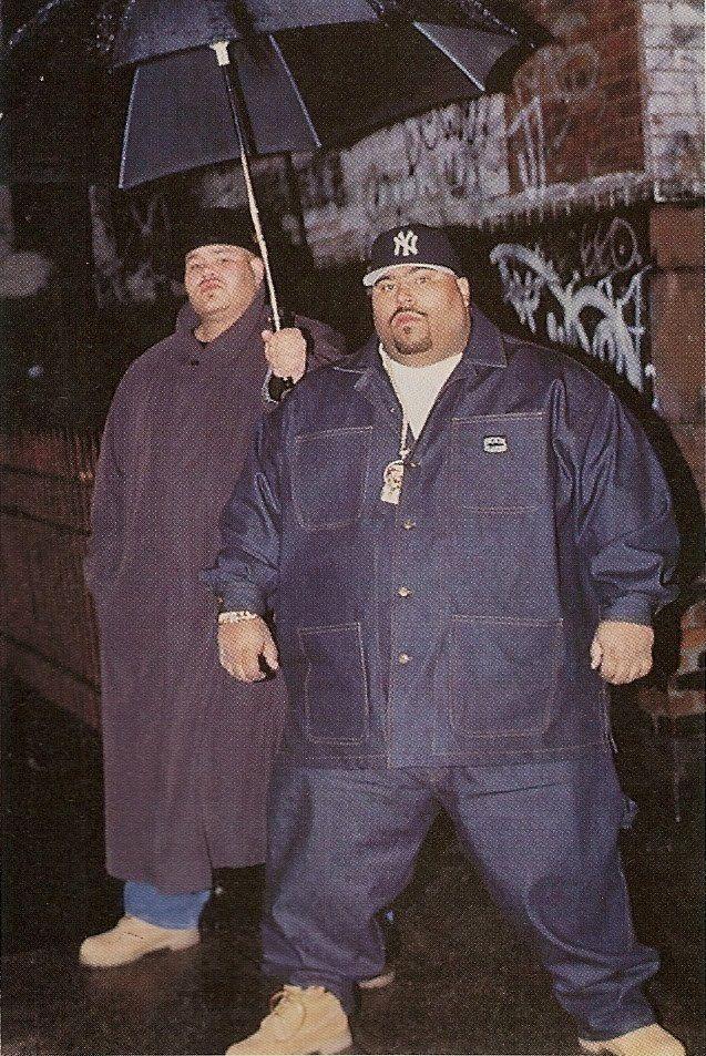 Raps The Rock : Photo of Big Pun & Fat Joe