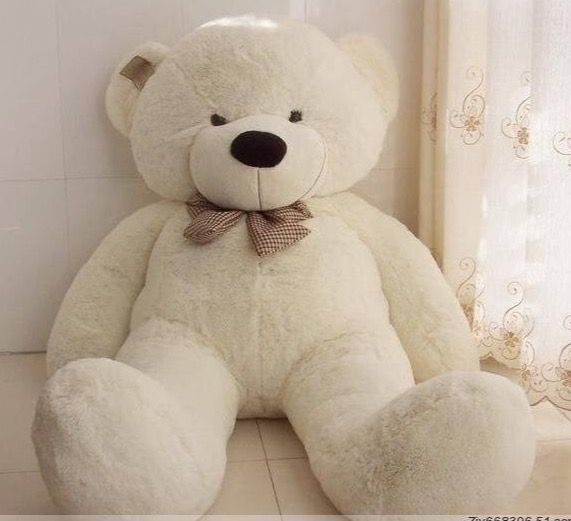 5 or 6 foot stuffed teddy bear