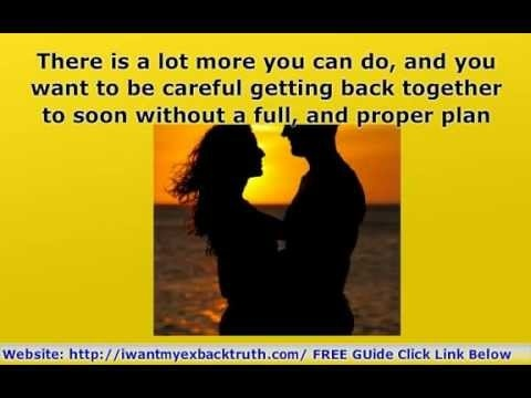 HOW To Get AN EX Back FAST And In LOVE All Over AGAIN! http://iwantmyexbacktruth.com/ Learn The Secret Psychology You Need Of How To Get An Ex Back Fast And Madly In Love With You All Over AGAIN!  Here are direct links to the secrets of how to get an ex back
