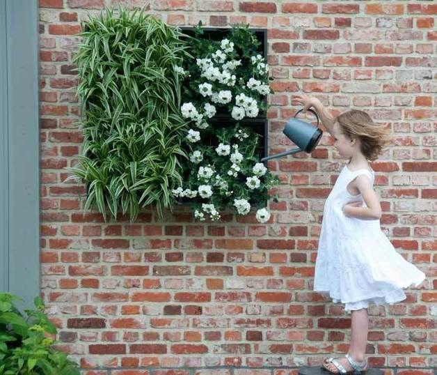 Modul für den Vertikalen Garten // vertical garden by StadtLandBalkon aus Berlin via dawanda.com
