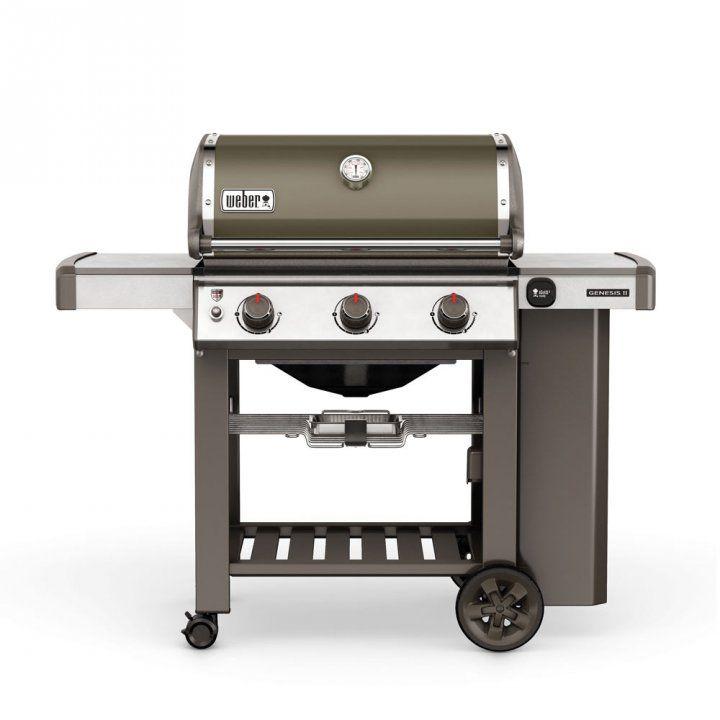 Weber Gasgrill Genesis ® II E-310™ GBS™, Smoke Grey + gratis Abdeckhaube ▷ günstig kaufen ▷ Weber-Grillen.de