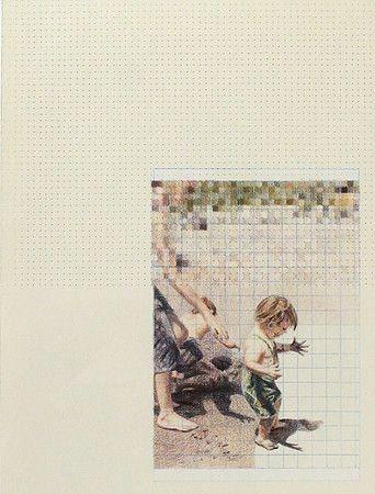 Dominique Schwarzhaupt | drawing. Colored Pencil on Paper. Dibujo