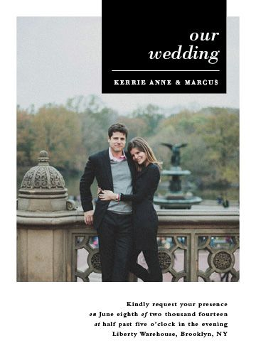 wedding invitations - City life by Stacey Meacham