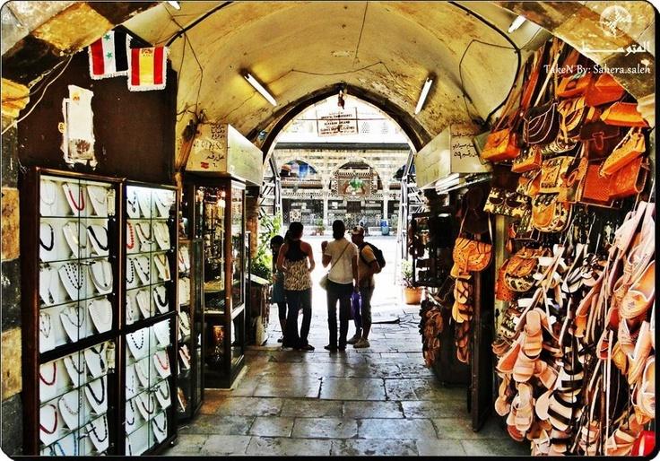 من أسواق التكية السليمانية في دمشق  Taken BY:Sahera saleh  http://www.facebook.com/photo.php?fbid=363300313739695=a.340189222717471.79221.335986726471054=3