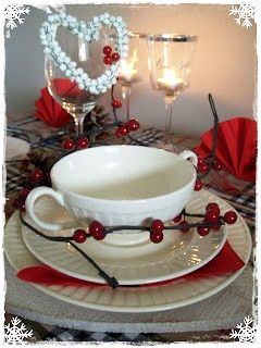 Kerst tafelen..