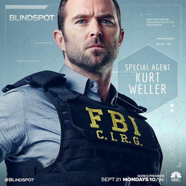 Special Agent Kurt Weller reporting for duty. Don't miss Sullivan Stapleton in #Blindspot Monday , September 21.